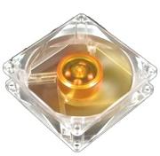 akasa ak 182 l2b amber case fan 80mm ultra quiet 2 bb photo