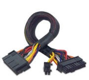 akasa ak cb24 24 ext psu extension cable photo