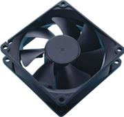 akasa dfs802512m 80mm classic black fan photo