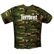 gamerswear t shirt terrorist camou xxl photo