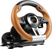 xxxspeedlink sl 4495 bkor drift oz racing wheel for ps3 black orange photo