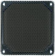 bitspower alumino mesh fan grill 120mm uv blue black photo