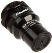 koolance qd3 male quick disconnect no spill coupling panel female threaded g 1 4 bspp black photo