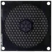 silverstone ff81b 80mm fan grille and filter kit black photo