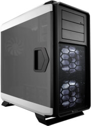 case corsair graphite series 760t arctic white full tower windowed photo