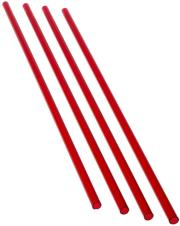 primochill acrylic tube 13 10mm 60cm 4 pack red photo