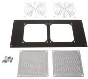 lian li d8000 1b mounting frame for 120mm fan black photo