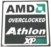 windowsticker amd overclocked photo
