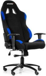 akracing gaming chair black blue photo