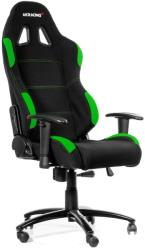 akracing gaming chair black green photo