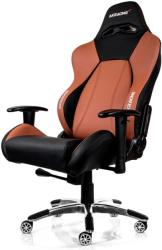 akracing premium gaming chair black brown photo