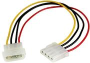 startech molex lp4 power extension cable m f 30cm photo