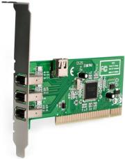 startech 4 port pci 1394a firewire adapter card 3 external 1 internal photo