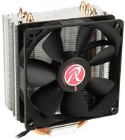 raijintek themis black heatpipe cpu cooler pwm 120mm photo
