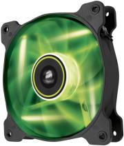 corsair air series sp120 led green high static pressure 120mm fan single pack photo