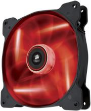 corsair air series sp140 led red high static pressure 140mm fan single pack photo