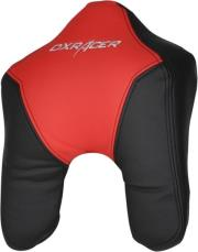 dxracer headr cushion pu leather black red photo