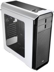 case aerocool 500 midi tower white window photo