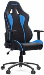 akracing nitro gaming chair black blue photo