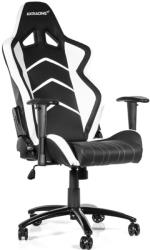akracing player gaming chair black white photo