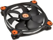 thermaltake riing 14 140mm led fan orange photo