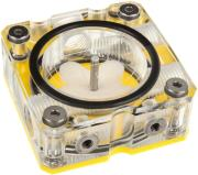 primochill vortex clear pmma flow indicator clear yellow photo