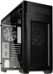 case phanteks enthoo pro m midi tower black acrylic window photo