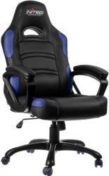 nitro concepts c80 comfort gaming chair black blue photo