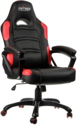 nitro concepts c80 comfort gaming chair black red photo