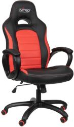 nitro concepts c80 pure gaming chair black red photo