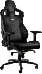 noblechairs epic gaming chair black blue photo