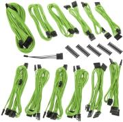 bitfenix alchemy 20 psu cable kit bqt series dpp green photo