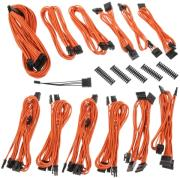bitfenix alchemy 20 psu cable kit bqt series dpp orange photo