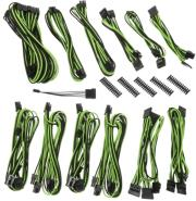 bitfenix alchemy 20 psu cable kit bqt series dpp black green photo