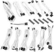 bitfenix alchemy 20 psu cable kit bqt series dpp white photo