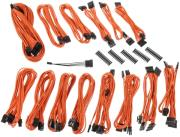 bitfenix alchemy 20 psu cable kit cmr series orange photo