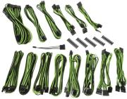 bitfenix alchemy 20 psu cable kit cmr series black green photo