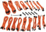 bitfenix alchemy 20 psu cable kit csr series orange photo