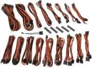 bitfenix alchemy 20 psu cable kit csr series black orange photo