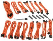 bitfenix alchemy 20 psu cable kit evg series orange photo
