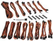 bitfenix alchemy 20 psu cable kit evg series black orange photo