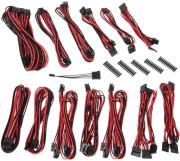 bitfenix alchemy 20 psu cable kit ssc series black red photo