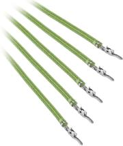 bitfenix alchemy 20 psu cable 5x 20cm light green photo