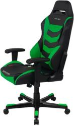 dxracer drifting df166 gaming chair black green photo