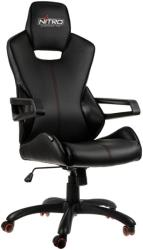 nitro concepts e200 race gaming chair black carbon photo