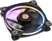 thermaltake riing 12 led rgb 256 colors high static pressure led radiator 120mm fan single fan photo