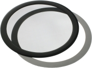 demciflex 225mm round computer dust filter black black photo
