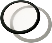 demciflex dust filter 140mm round black white photo