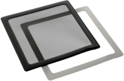 demciflex dust filter 200mm square black black photo