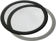 demciflex dust filter 200mm round black black photo